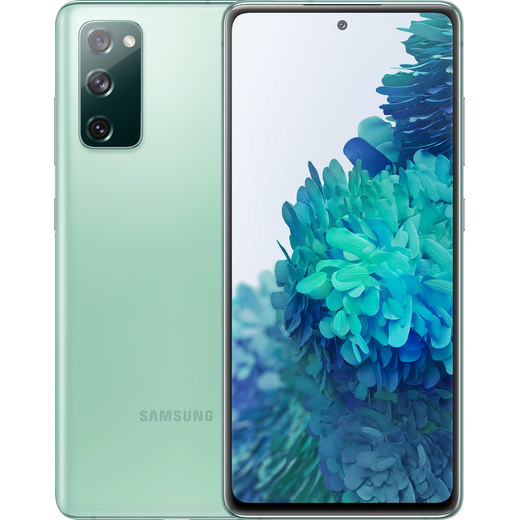Samsung Galaxy S20 FE 128GB Smartphone in Mint Green