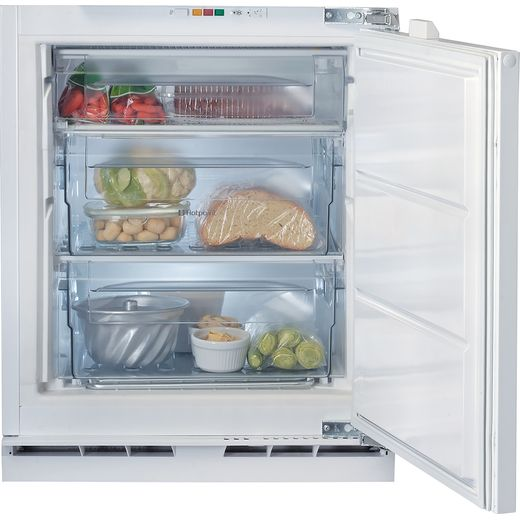 Hotpoint HZA1.UK1 Integrated Upright Freezer with Fixed Door Fixing Kit - F Rated
