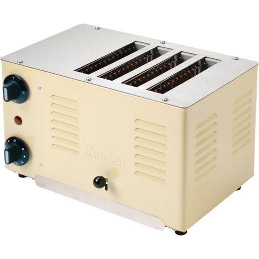 Rowlett Regent DA220 4 Slice Commercial Toaster - Cream