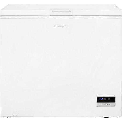 Lec CF200LMk2 Chest Freezer - White - F Rated