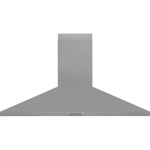 Belling Unbranded UH100SS 100 cm Chimney Cooker Hood - Stainless Steel - E Rated