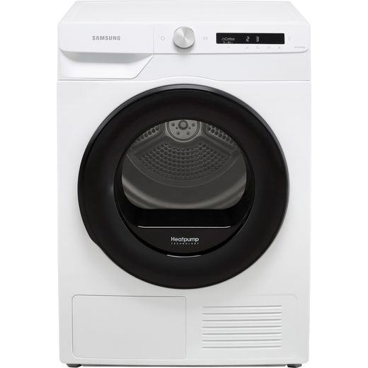 Samsung Series 5+ OptimalDry™ DV90T5240AW Wifi Connected 9Kg Heat Pump Tumble Dryer - White - A+++ Rated