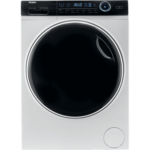 Haier i-Pro Series 7 HW80-B14979 8Kg Washing Machine with 1400 rpm - White - A Rated