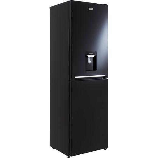 Beko CFG3582DB 50/50 Frost Free Fridge Freezer - Black - F Rated