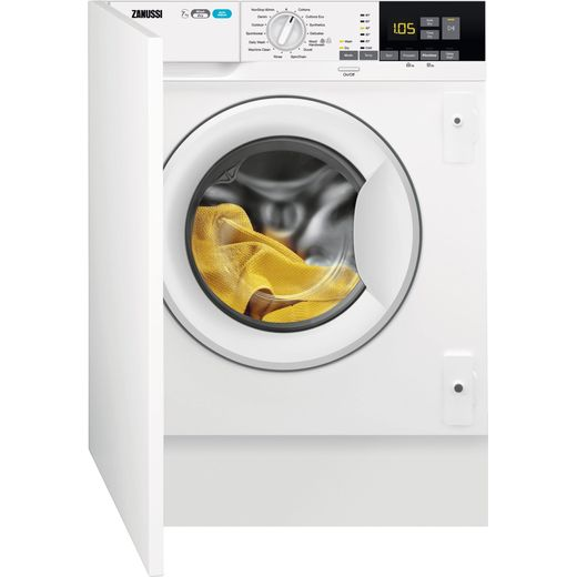 Zanussi Z716WT83BI Integrated 7Kg / 4Kg Washer Dryer with 1550 rpm - White - E Rated