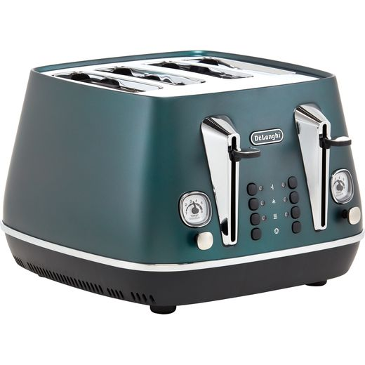 De'Longhi Distinta Flair CTI4003.GR 4 Slice Toaster - Green