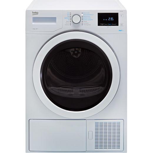 Beko DPH8744W 8Kg Heat Pump Tumble Dryer - White - A++ Rated