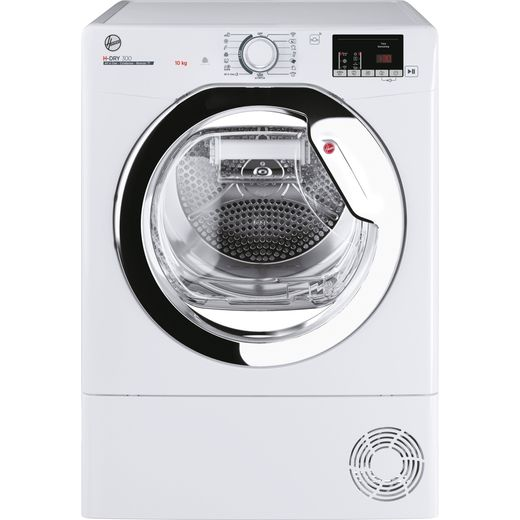 Hoover H-DRY 300 HLEC10DCE Wifi Connected 10Kg Condenser Tumble Dryer - White - B Rated