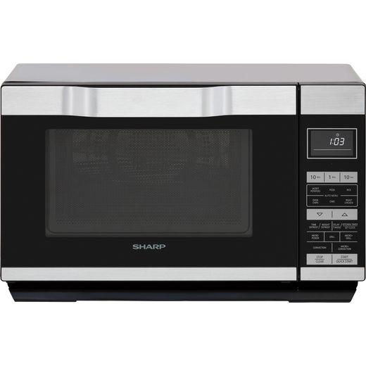 Sharp I series R861KM Microwave - Silver / Black
