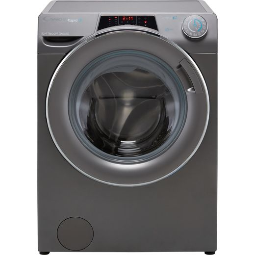 Candy Rapido RO16106DWMCRE Wifi Connected 10Kg Washing Machine with 1600 rpm - Graphite - A Rated