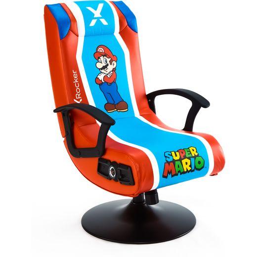 X Rocker Super Mario 2.1 Gaming Chair - Multi Colour