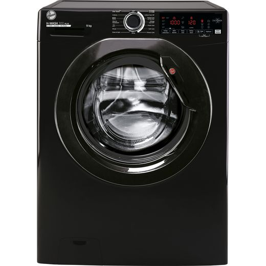 Hoover H-WASH 300 H3W69TMBBE/1 9Kg Washing Machine with 1600 rpm - Black - B Rated
