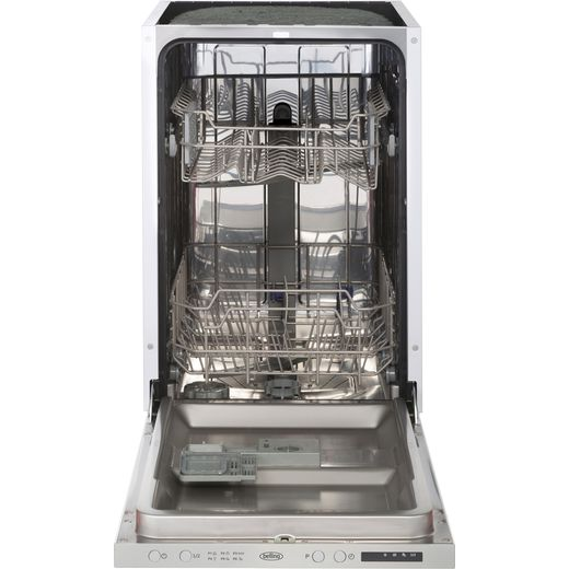 Belling IDW45 Fully Integrated Slimline Dishwasher - Stainless Steel Control Panel with Fixed Door Fixing Kit - D Rated