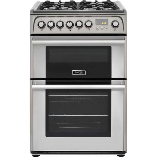 Cannon by Hotpoint CH60DPXFS 60cm Dual Fuel Cooker - Stainless Steel - B/B Rated