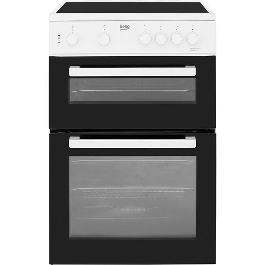 Beko KTC611W Electric Cooker - White - Needs 9.9KW Electrical Connection