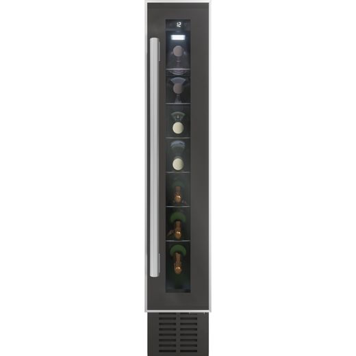 Baumatic BWC155SS/3 Built In Wine Cooler - Black - A Rated