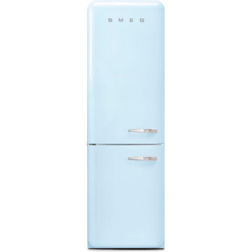 Smeg Left Hand Hinge FAB32LPB5UK 60/40 Frost Free Fridge Freezer - Pastel Blue - D Rated