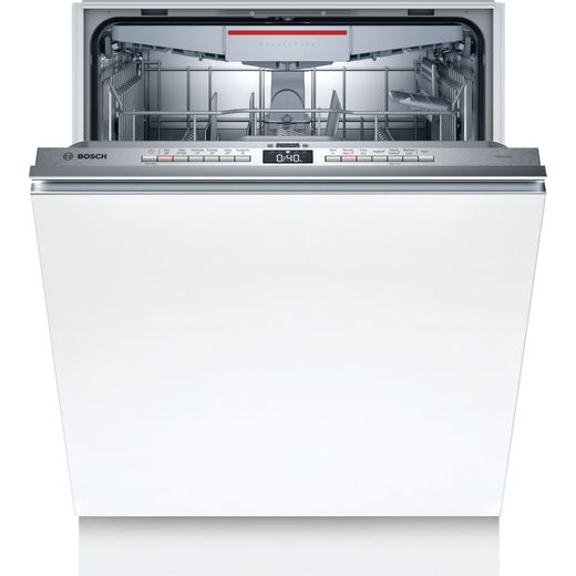 Bosch Serie 4 SMH4HVX32G Wifi Connected Fully Integrated Standard Dishwasher - Stainless Steel Control Panel - A++ Rated