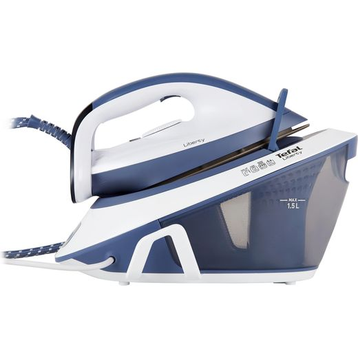 Tefal Liberty SV7020 Pressurised Steam Generator Iron - Light Blue / White