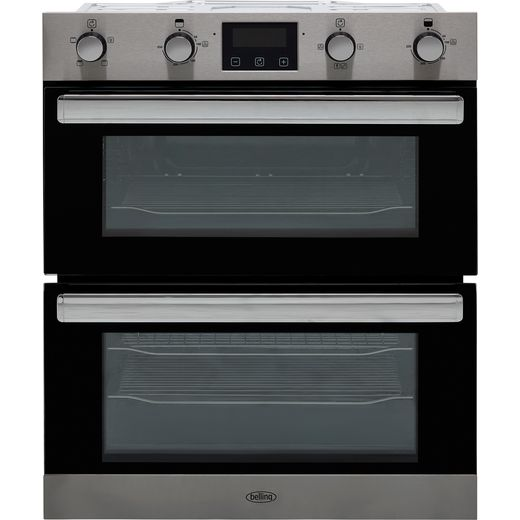 Belling BI702FP Built Under Electric Double Oven - Stainless Steel - A/A Rated