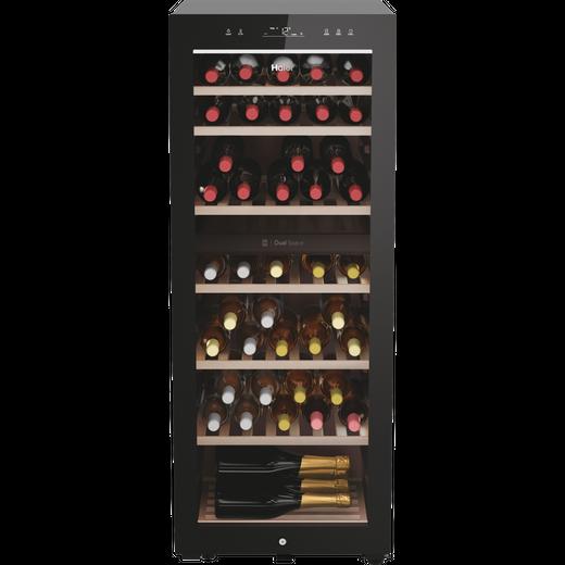 Haier HWS77GDAU1 Wine Cooler - Black - G Rated