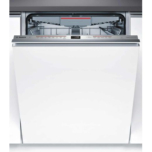 Bosch Serie 6 SMV68MD01G Fully Integrated Standard Dishwasher - Stainless Steel Control Panel with Fixed Door Fixing Kit - E Rated