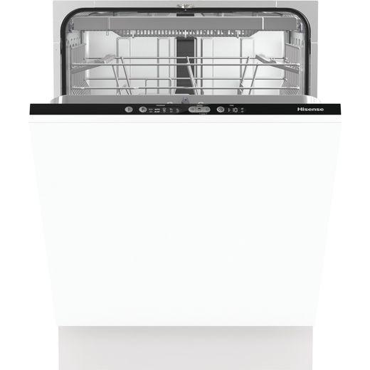 Hisense HV661D60UK Built In Standard Dishwasher - Black