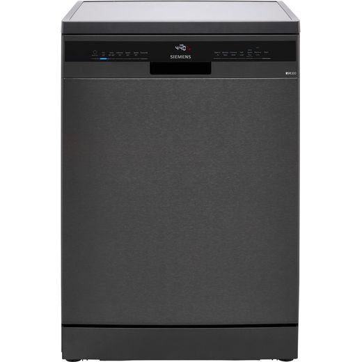 Siemens IQ-300 SN23EC14CG Standard Dishwasher - Black