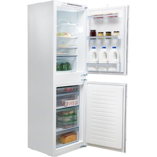 Bosch Serie 4 KIV85VSF0G Integrated 50/50 Fridge Freezer with Sliding Door Fixing Kit - White - F Rated