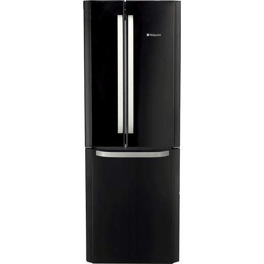 Hotpoint FFU3DK1 60/40 Frost Free Fridge Freezer - Black - F Rated