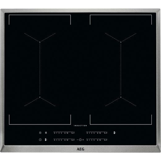 AEG IKE64450XB 59cm Induction Hob - Black