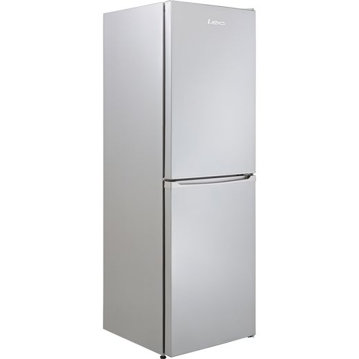 Lec TF55179S 50/50 Frost Free Fridge Freezer - Silver - F Rated