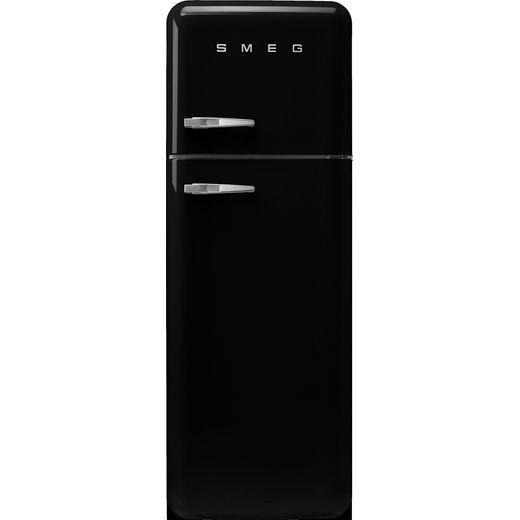 Smeg Right Hand Hinge FAB30RBL5UK 70/30 Fridge Freezer - Black - D Rated