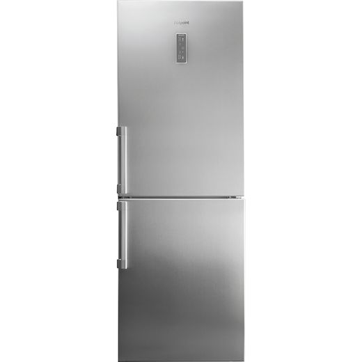 Hotpoint NFFUD191X1 60/40 Frost Free Fridge Freezer - Stainless Steel Effect - F Rated