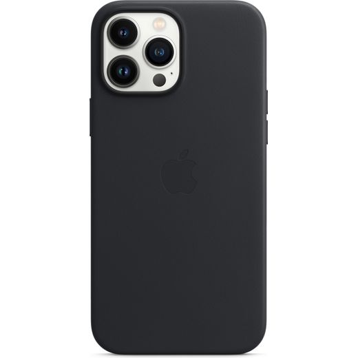 Apple Leather Case for iPhone 13 Pro Max - Midnight