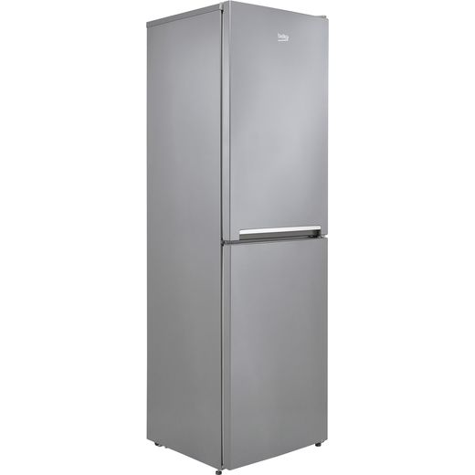 Beko CFG3582S 50/50 Frost Free Fridge Freezer - Silver - F Rated