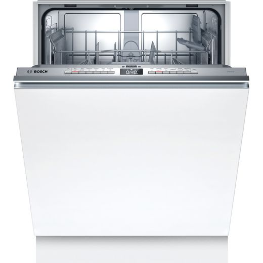 Bosch Serie 4 SMV4HTX27G Wifi Connected Fully Integrated Standard Dishwasher - Stainless Steel Control Panel - A++ Rated