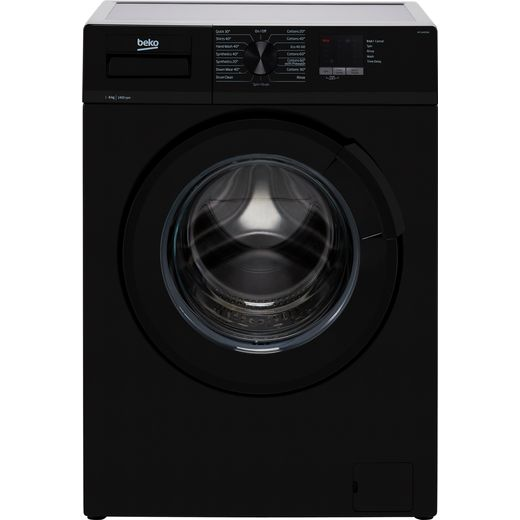 Beko WTL64051B 6Kg Washing Machine with 1400 rpm - Black - D Rated