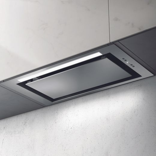 Elica SLEEK-80-SS 72 cm Integrated Cooker Hood - Stainless Steel - B Rated