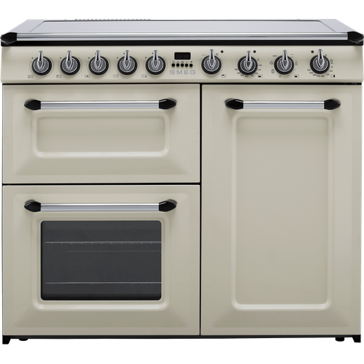 Smeg Victoria TR103IP 100cm Electric Range Cooker with Induction Hob - Cream - A/B Rated