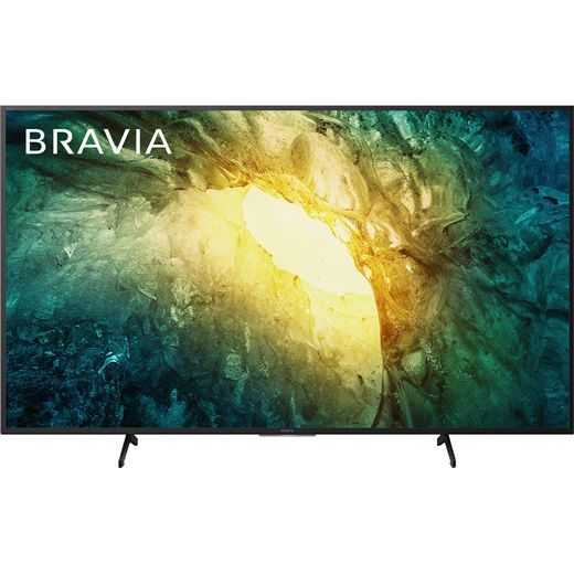 "Sony Bravia KD65X7052PBU 65"" Smart 4K Ultra HD TV With TRILUMINOS Display and Clear Audio+"
