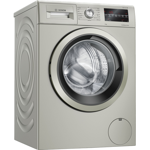 Bosch Serie 6 WAU28TS1GB 9Kg Washing Machine with 1400 rpm - Silver - C Rated