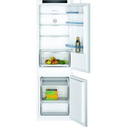 Bosch Serie 4 KIV86VSE0G Integrated 70/30 Fridge Freezer with Sliding Door Fixing Kit - White - E Rated