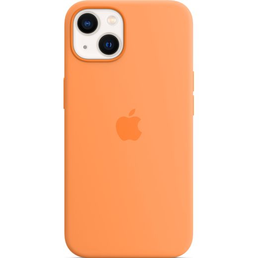Apple Silicone Case for iPhone 13 - Marigold