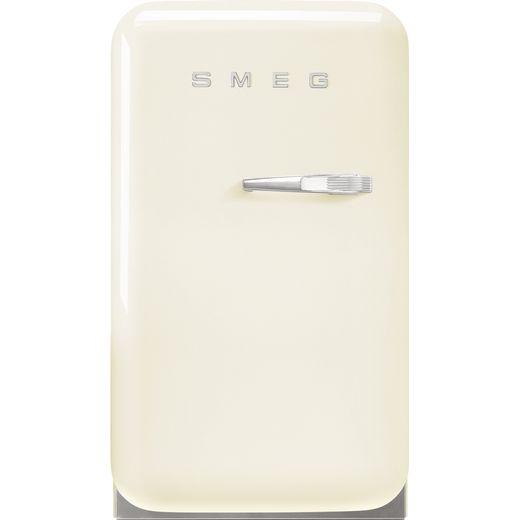 Smeg Left Hand Hinge FAB5LCR5 Fridge - Cream - D Rated