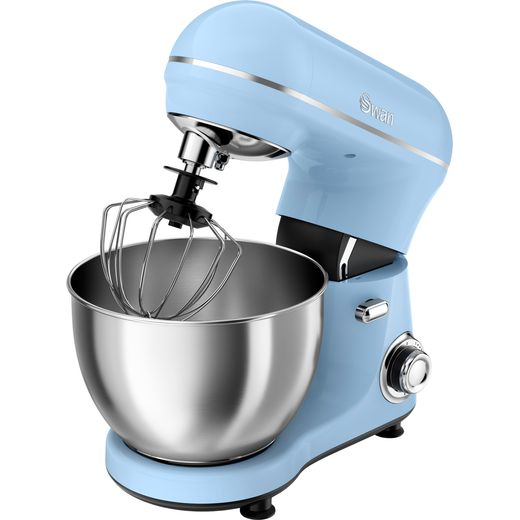 Swan Retro SP21060BLN Stand Mixer with 4 Litre Bowl - Blue