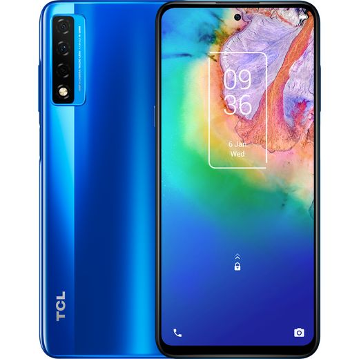 TCL 20 5G 256GB in Blue