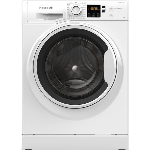 Hotpoint NSWA943CWWUKN 9Kg Washing Machine with 1400 rpm - White - D Rated