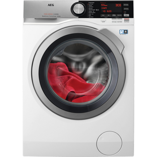 AEG DualSense Technology L7WEC166R 10Kg / 6Kg Washer Dryer with 1550 rpm - White - E Rated