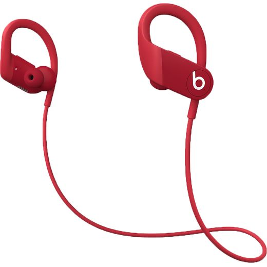 Beats Powerbeats In-Ear Water Resistant Wireless Bluetooth Headphones - Red